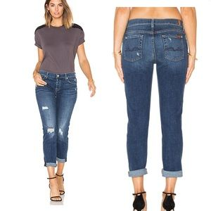7 For All Mankind Josefina Skinny Distressed Jeans